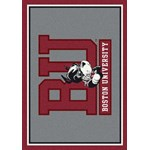 "Milliken College Team Spirit (NCAA) Boston 74194 Spirit Rectangle (4000019202) 5'4"" x 7'8"" Area Rug"