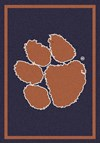 Milliken College Team Spirit (NCAA) Clemson 79798 Spirit Rectangle (4000019507) 2'8