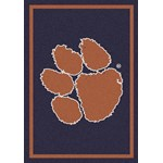 "Milliken College Team Spirit (NCAA) Clemson 79798 Spirit Rectangle (4000019507) 2'8"" x 3'10"" Area Rug"