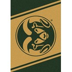 "Milliken College Team Spirit (NCAA) Colorado State 74232 Spirit Rectangle (4000019093) 3'10"" x 5'4"" Area Rug"