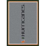 "Milliken College Team Spirit (NCAA) Miami 74386 Spirit Rectangle (4000019353) 7'8"" x 10'9"" Area Rug"