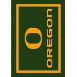 "Milliken College Team Spirit (NCAA) Oregon 45816 Spirit Rectangle (4000019181) 5'4"" x 7'8"" Area Rug"