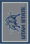 Milliken College Team Spirit (NCAA) Utah State 74382 Spirit Rectangle (4000019112) 3'10
