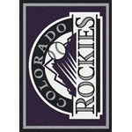 "Milliken MLB Team Spirit (MLB-S) Colorado Rockies 01005 Spirit Rectangle (4000049998) 3'10"" x 5'4"" Area Rug"