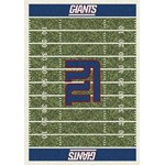 "Milliken NFL Team Home Field (NFL-F) New York Giants 01063 Home Field Rectangle (4000019837) 5'4"" x 7'8"" Area Rug"