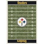 "Milliken NFL Team Home Field (NFL-F) Pittsburgh Steelers 01075 Home Field Rectangle (4000019841) 5'4"" x 7'8"" Area Rug"