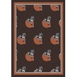 "Milliken NFL Team Repeat (NFL-R) Cleveland Browns 09023 Repeat Rectangle (4000054774) 7'8"" x 10'9"" Area Rug"