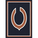 "Milliken NFL Team Spirit (NFL-S) Chicago Bears 00917 Spirit Rectangle (4000095603) 3'10"" x 5'4"" Area Rug"