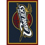 "Milliken NBA Team Spirit (NBA-S) Cleveland Cavaliers 01005 Spirit Rectangle (4000052543) 5'4"" x 7'8"" Area Rug"