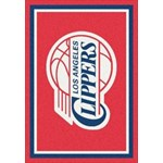 "Milliken NBA Team Spirit (NBA-S) Los Angeles Clippers 01012 Spirit Rectangle (4000052871) 2'8"" x 3'10"" Area Rug"