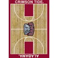 Milliken College Home Court (NCAA) Alabama 01010 Court Rectangle (4000018278) 3