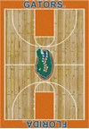 Milliken College Home Court (NCAA) Florida 01500 Court Rectangle (4000018357) 3'10