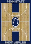Milliken College Home Court (NCAA) Penn State 01300 Court Rectangle (4000018325) 3'10