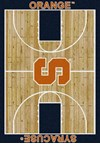Milliken College Home Court (NCAA) Syracuse 01395 Court Rectangle (4000018507) 7'8