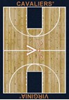 Milliken College Home Court (NCAA) Virginia 01455 Court Rectangle (4000018348) 3'10