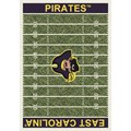 Milliken College Home Field (NCAA) East Carolina 01068 Home Field Rectangle (4000018691) 10