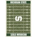 Milliken College Home Field (NCAA) Michigan State 01180 Home Field Rectangle (4000018564) 5