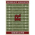 Milliken College Home Field (NCAA) Rutgers 01347 Home Field Rectangle (4000096212) 10