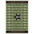 Milliken College Home Field (NCAA) Vanderbilt 01453 Home Field Rectangle (4000096160) 10
