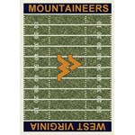 "Milliken College Home Field (NCAA-FLD) West Virginia 01470 Home Field Rectangle (4000053957) 3'10"" x 5'4"" Area Rug"