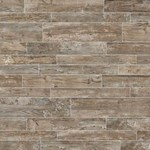 "Daltile Season Wood: Orchard Grey 6"" x 48"" Porcelain Tile SW01-6481P"
