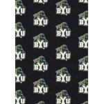 "Milliken College Repeating (NCAA) Brigham Young 01048 Repeat Rectangle (4000018829) 5'4"" x 7'8"" Area Rug"
