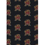"Milliken College Repeating (NCAA) Maryland 01156 Repeat Rectangle (4000018921) 7'8"" x 10'9"" Area Rug"