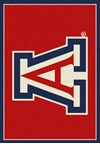 Milliken College Team Spirit (NCAA) Arizona 74758 Spirit Rectangle (4000019371) 7'8