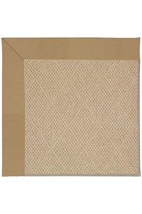 Capel Rugs Creative Concepts Cane Wicker - Canvas Linen (175) Octagon 4' x 4' Area Rug