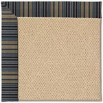 Capel Rugs Creative Concepts Cane Wicker - Vera Cruz Ocean (445) Octagon 4' x 4' Area Rug