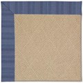 Capel Rugs Creative Concepts Cane Wicker - Vierra Navy (455) Octagon 4