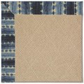 Capel Rugs Creative Concepts Cane Wicker - Java Journey Indigo (460) Octagon 4