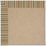Capel Rugs Creative Concepts Cane Wicker - Dorsett Autumn (714) Octagon 4' x 4' Area Rug