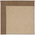 Capel Rugs Creative Concepts Cane Wicker - Canvas Cocoa (747) Octagon 4' x 4' Area Rug