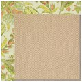 Capel Rugs Creative Concepts Cane Wicker - Cayo Vista Mojito (215) Octagon 6