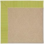 Capel Rugs Creative Concepts Cane Wicker - Vierra Kiwi (228) Octagon 6' x 6' Area Rug