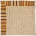 Capel Rugs Creative Concepts Cane Wicker - Vera Cruz Samba (735) Octagon 6