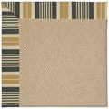 Capel Rugs Creative Concepts Cane Wicker - Long Hill Ebony (340) Octagon 8