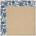 Capel Rugs Creative Concepts Cane Wicker - Batik Indigo (415) Octagon 8