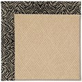 Capel Rugs Creative Concepts Cane Wicker - Wild Thing Onyx (396) Octagon 10
