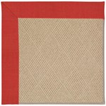 Capel Rugs Creative Concepts Cane Wicker - Dupione Crimson (575) Octagon 10' x 10' Area Rug