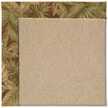 Capel Rugs Creative Concepts Cane Wicker - Bahamian Breeze Cinnamon (875) Octagon 10