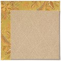 Capel Rugs Creative Concepts Cane Wicker - Cayo Vista Tea Leaf (210) Octagon 12