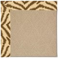 Capel Rugs Creative Concepts Cane Wicker - Couture King Chestnut (756) Octagon 12