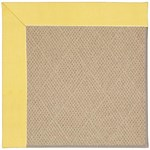 "Capel Rugs Creative Concepts Cane Wicker - Canvas Buttercup (127) Runner 2' 6"" x 8' Area Rug"