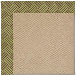 "Capel Rugs Creative Concepts Cane Wicker - Dream Weaver Marsh (211) Runner 2' 6"" x 8' Area Rug"