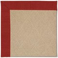 Capel Rugs Creative Concepts Cane Wicker - Canvas Cherry (537) Runner 2