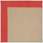 "Capel Rugs Creative Concepts Cane Wicker - Canvas Paprika (517) Runner 2' 6"" x 10' Area Rug"