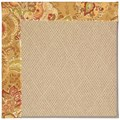 Capel Rugs Creative Concepts Cane Wicker - Tuscan Vine Adobe (830) Rectangle 3