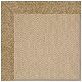 Capel Rugs Creative Concepts Cane Wicker - Tampico Rattan (716) Rectangle 7